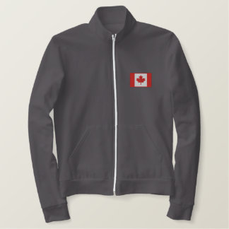 Veste Brodée Équipe de hockey canadienne faite sur commande