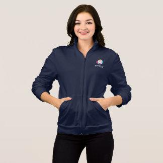 Veste de l'ouatine des femmes dans la marine