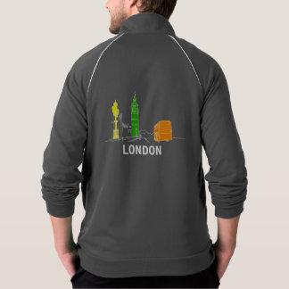 Veste Les couleurs au néon de Londres refroidissent le