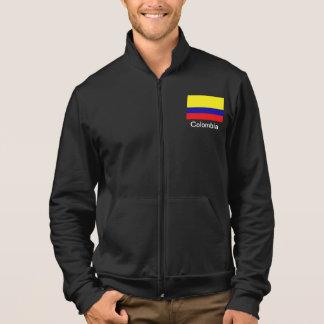 Veste Taqueur d'ouatine de drapeau de la Colombie