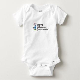 Vêtement une pièce de coton de Gerber de bébé avec T-shirts