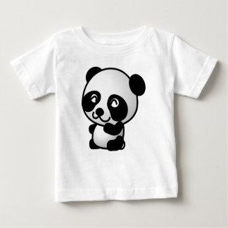 Vêtements de bébé. Panda. T-shirt Pour Bébé