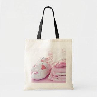 Vêtements roses de bébé pour le baby shower sacs