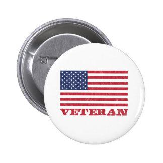 vétéran badge rond 5 cm
