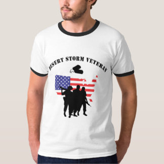Vétéran de tempête du désert t-shirt