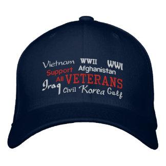 Vétérans de soutien - casquette brodé