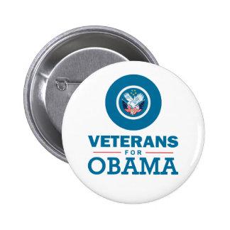 Vétérans pour Obama Badges