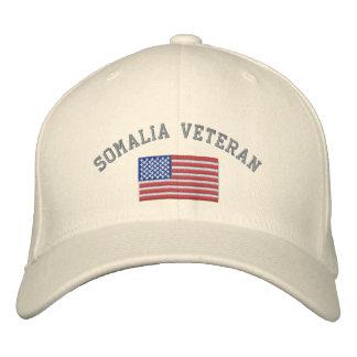 Vétérinaire de la SOMALIE avec le drapeau Casquette Brodée