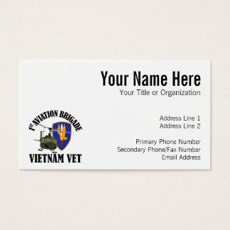 Vétérinaire du Vietnam - ęr BDE UH-1 d'AVN Cartes De Visite