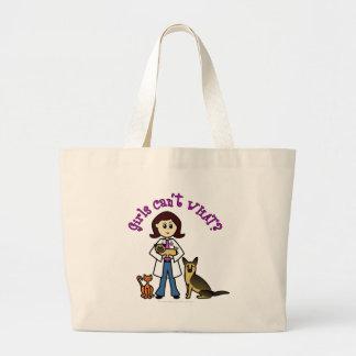 Vétérinaire féminin léger grand sac