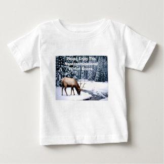 Veuillez apprécier cette scène non confessionnelle t-shirt pour bébé