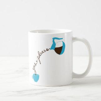 Veuillez oui mug