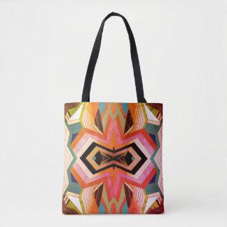Vibraphone géométrique vintage coloré sac