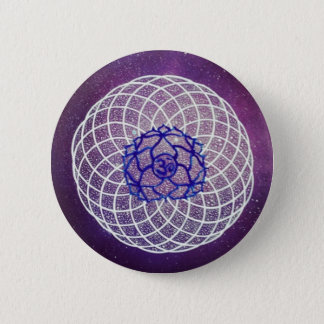 vibration de chakra de couronne badges