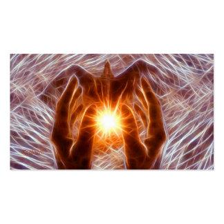 Vibrations curatives carte de visite standard