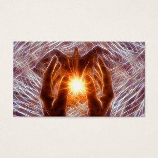 Vibrations curatives cartes de visite
