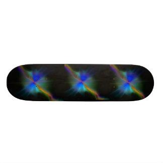 Vibrations en forme d'étoile planches à roulettes customisées