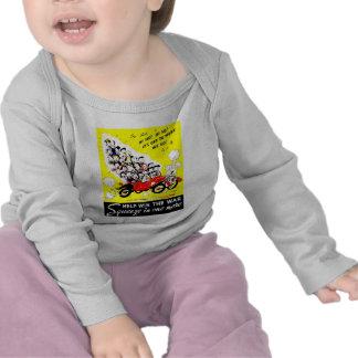 Victoire d'aide le T-shirts de nourrisson de guerr