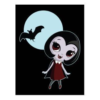 Victoria le vampire carte postale