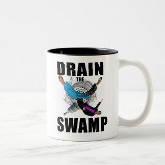 Vidangez la tasse rouge de tasse de café de Donald