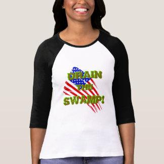 VIDANGEZ LE MARAIS ! avec le drapeau américain T-shirt