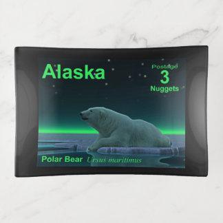 Vide-poche Affranchissement de l'Alaska - ours blanc de bord