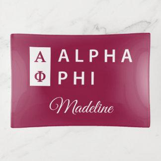 Vide-poche Alpha phi | empilé