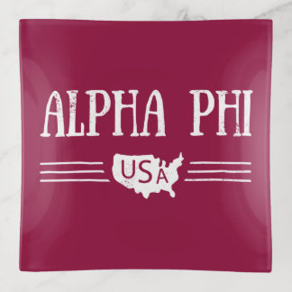 Vide-poche Alpha phi Etats-Unis