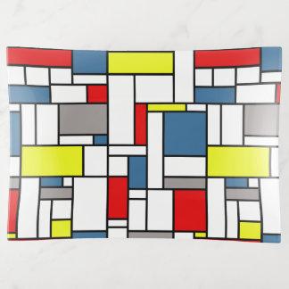 Vide-poche Conception de style de Mondrian