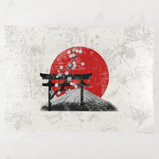 Vide-poche Drapeau et symboles du Japon ID153