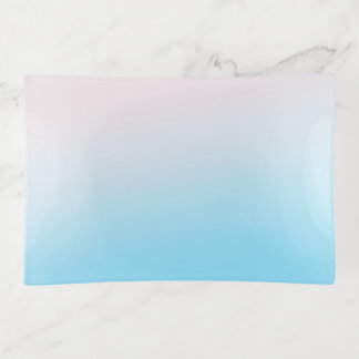 Vide-poche Gradient bleu et blanc