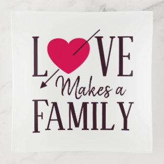 Vide-poche L'amour fait une famille - adoption d'accueil