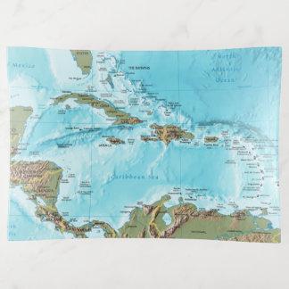 Vide-poche Le des Caraïbes (carte)