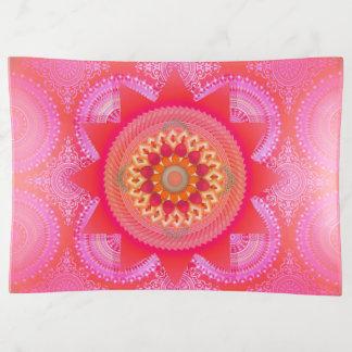 Vide-poche Mandala ID129 de rose de fleur de Lotus