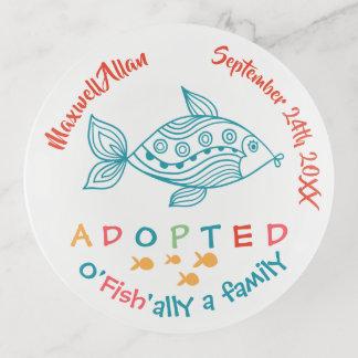 Vide-poche O'Fish'ally a adopté le cadeau orienté d'adoption