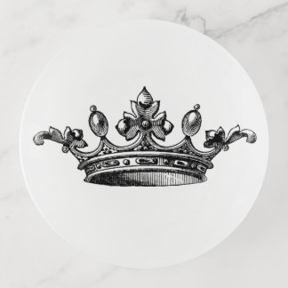 Vide-poche Princesse Queen Crown Trinket Tray