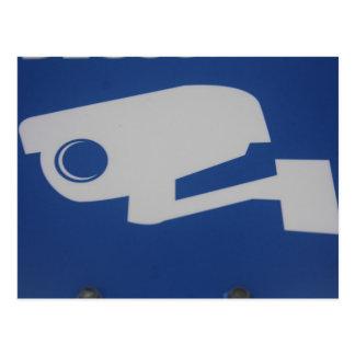 video surveillance postal card carte postale