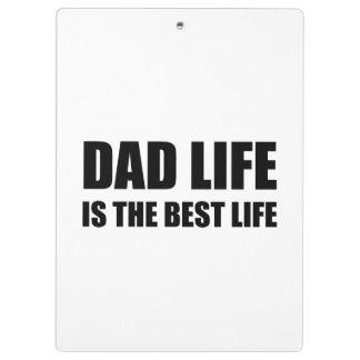 Vie de la vie de papa la meilleure porte-bloc
