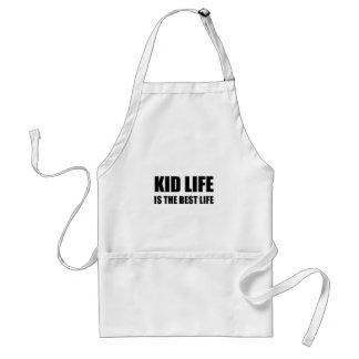 Vie de la vie d'enfant la meilleure tablier