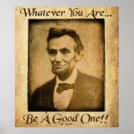 Vieil Abe- celui qui vous soyez Posters