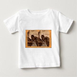 Vieil Abe, l'aigle Stereoview de guerre du T-shirts