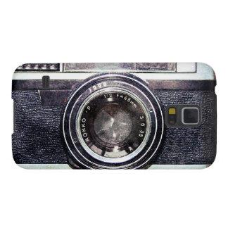 Vieil appareil-photo noir coque pour samsung galaxy s5