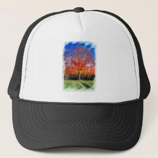 Vieil arbre sage casquettes de camionneur