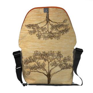 Vieil arbre vintage rustique personnalisé besace