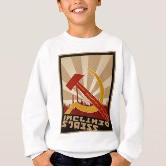 Vieil habillement russe soviétique de propagande sweatshirt