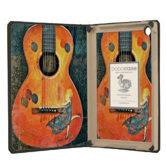 Vieil iPad Dodocase de guitare acoustique