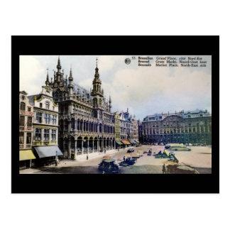 Vieille carte postale - Bruxelles