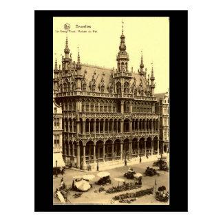 Vieille carte postale - Bruxelles, Maison du Roi