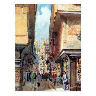 Vieille carte postale - Cantorbéry, Kent