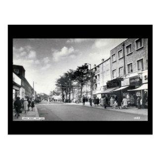 Vieille carte postale de Londres - St vert, jambon